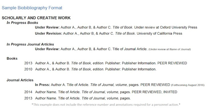 annotated bibliography examples journals